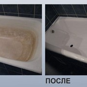 Точечный ремонт ванн фото