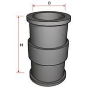 Резиновые безнапорные фасонные части к трубопроводам фото