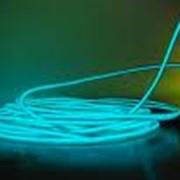 Прокат, аренда светящегося провода холодный неон для корпоративов, вечеринок, торжеств фото