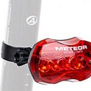 Фонарь для велосипеда задний A-Meteor R красный AUTHOR диодов повышенной яркости, 5 функций, до 240/50 час фото