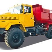 Платформы грузовые на автомобилях КрАЗ V 20 м3 с разными разгрузками фото