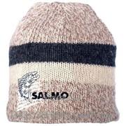 Вязаная шерстяная шапка Salmo Wool с флисовой подкладкой фото