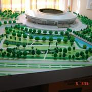 Макет стадиона Донбасс-Арена фото