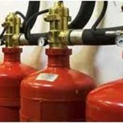 Системы пожаротушения на основе газовых средств фото