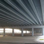 Окраска моста фото