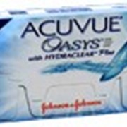 Линзы Johnson&Johnson ACUVUE OASYS сила -12,00 до -0,50 радиус 8,4 фото