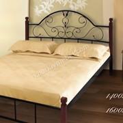 Кровать Анжелика ножки дерево 2000*1800 фото