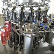 Оборудование для производства алкогольных и слабоалкогольных напитков, Автоматическая линия розлива в 5 галлоную тару 18,9 литра до 600 бутылей в час фото