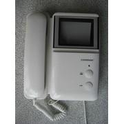 Прибор видеонаблюдения, видеодомофон COMMAX, DPV-4MTN, б/у, в отличном состоянии фото
