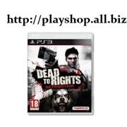 Игра Dead to rights Retribution (бродилка) (ps3) фото