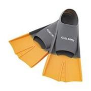 Ласты тренировочные Colton CF-01 р.33-35 серый/оранжевый фото