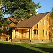 Дом из клееного профилированного бруса, Дома брусовые фото