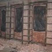 Усиление стен, существующих проёмов, перекрытий. фото