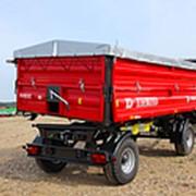 Прицеп тракторный самосвальный Metal-Fach Т-710/2 с надставными бортами фото