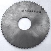 Фреза отрезная 100х2,0х27, Р18, тип 2, средний зуб фото