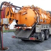 Прочистка канализации и канализационных труб фото