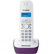 Стационарный телефон, беспроводная трубка (DECT) Panasonic KX-TG1611 бело-фиолетовый фото