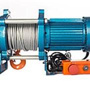 Лебедка KCD-500 E21 (500 kg, 380 В) с канатом 30 м TOR фото
