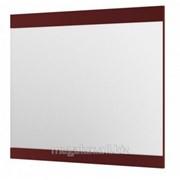 Зеркало, цвет бордовый, 90х79 см Aquaform Decora фото