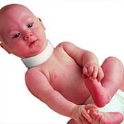 Воротник ортопедический мягкий для детей ассимметричный Fosta F 9001 выс. 3,5 - 5,5 см фото