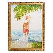 """Картина """"На солнце"""" багет 58х78 см 1009 фото"""