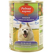 Корм для собак Родные Корма 970гр ягненок с рисом фото