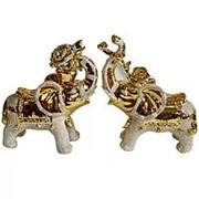 Сувенир Слоны 2 штуки 4555 фото