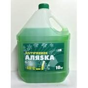 Антифриз Аляска -40 green (10кг) фото