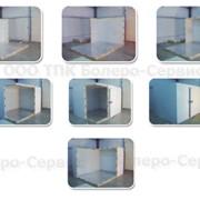 Сборные холодильные камеры - с вынесенным или встроенным холодильным агрегатом фото