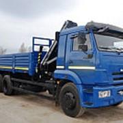 Бортовой Камаз 65117 с КМУ HIAB-166 B2 DUO фото