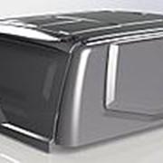 Крыша (кунг) кузова для UAZ Пикап 15- (черный/белый; двойная кабина; 3 двери) фото