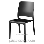 Стул пластиковый Charlotte Deco Chair, серый фото