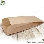 Крафт пакет с пл. дн., 100*60*300 мм,2000шт(бумага) - бумажные крафт пакеты фото