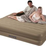 Надувная двухспальная кровать Интекс (Intex) 66754 на молнии фото