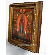 Иконы в рамке из итальянского багета фото