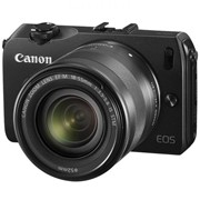 Фотоаппарат Canon EOS M + объектив 18-55 IS Black 6609B045 фото