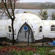 Купольный дом-сфера (30 кв.м., 1 комната) фото
