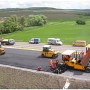 Строительство автострад, дорог, взлетно-посадочных полос фото