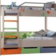 Детская двухъярусная кровать фото