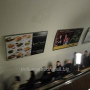 Щиты на эскалаторных сводах и переходах метро фото