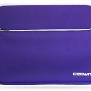 Чехол для ноутбука фиолетового цвета фото