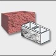 Колотые декоративные бетонные блоки фото