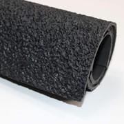 Резина каучуковая листовая т. 1,8 мм цв., черный фото