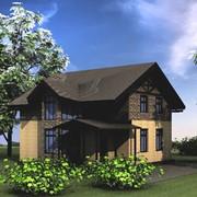 Дом каркасный фото
