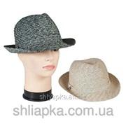 Шляпа летняя «трилби» 36/19-2 фото