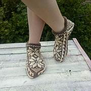 Джурабы «Твин», носки с орнаментом, домашние тапочки фото