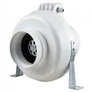 Промышленный вентилятор пластиковый Вентс ВК 125 Б сіро-блакитний фото