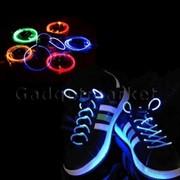 Светящиеся шнурки для вашей обуви фото