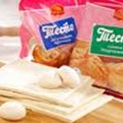 Слоёное тесто, слоёно-дрожжевое тесто, дрожжевое тесто, тесто оптом фото