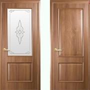 Дверь из бруса Новый стиль Вилла золотая ольха фото